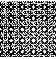 square pattern black and white vector image