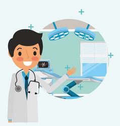 People medical healthcare vector