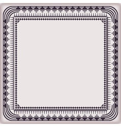 frame vintage pattern vector image
