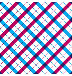 geometric seamless pattern with crossed lines vector image