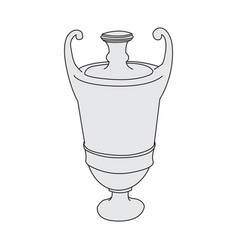 image of an antique amphora vector image