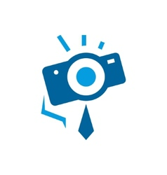 Photographer abstract sign vector