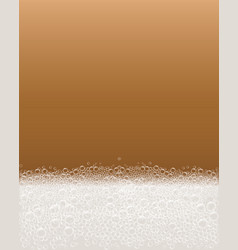 soap bubble foam concept background realistic vector image