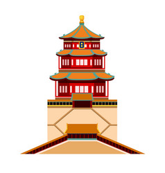 summer palace beijing china vector image