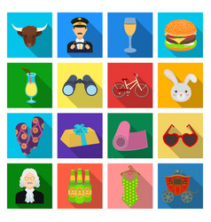 Trade textiles industry and other web icon in vector
