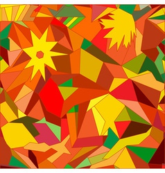 Abstract autumn vector image vector image