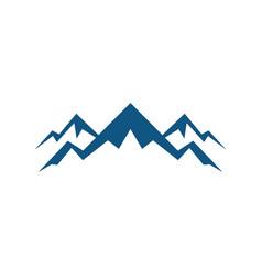 rocky mountain expedition logo vector image