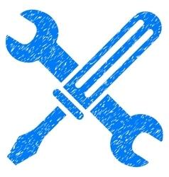 Tools Grainy Texture Icon vector image vector image