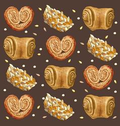 Bakery broun vector