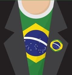 Brazil T-Shirt vector image
