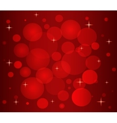 Christmas pattern in red color vector
