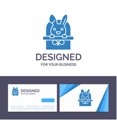 creative business card and logo template basket vector image