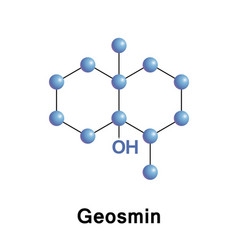 Geosmin is an organic compound vector