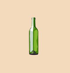 long green glass vector image