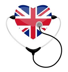 medicine united kingdom vector image