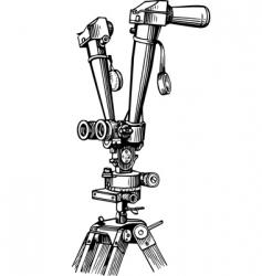 rangefinder vector image