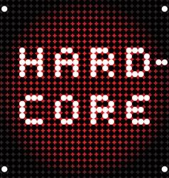 hard rock dots vector image