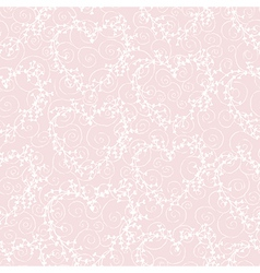 seamless pattern with wreathes and swirles vector image vector image