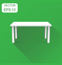 3d table for object presentation icon business vector image