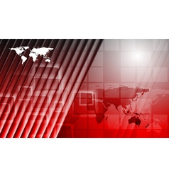 Bright red technology background vector image vector image
