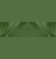 green wavy background with squares texture vector image