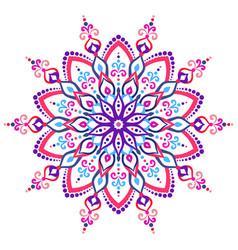 Mandala flower design element vector