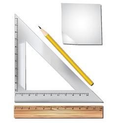 Math equipment vector