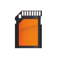 Sd memory card icon vector