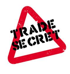 Trade secret rubber stamp vector