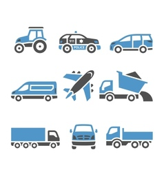 Transport Icons - A set of twelfth vector