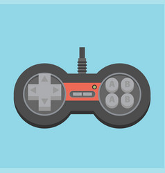 vintage game joystick gamepad icon vector image