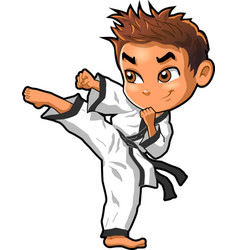 karate martial arts tae kwon do dojo clipart vector image vector image