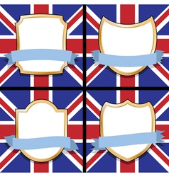 uk shields vector image