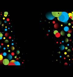 border bubble vector image vector image