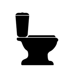 sign of the toilet vector image vector image