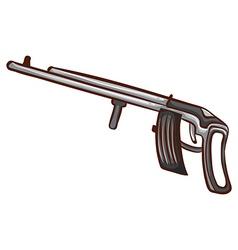 A simple sketch of a soldiers gun vector
