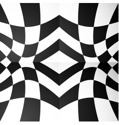 abstract mirrored symmetrical repeatable pattern vector image