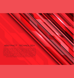 abstract red tone circuit geometric light energy vector image
