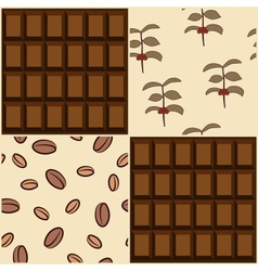 Coffee and chocolate design vector image