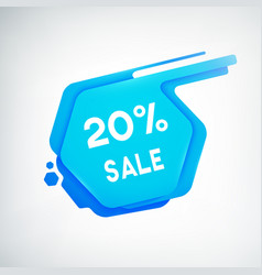 creative sale poster vector image