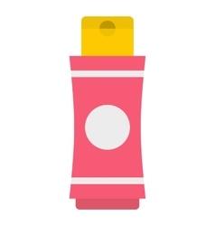 Deodorant icon flat style vector