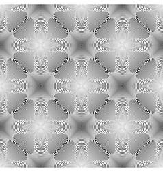 Design seamless monochrome background vector