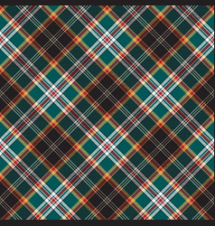 Diagonal fabric texture seamless pattern check vector