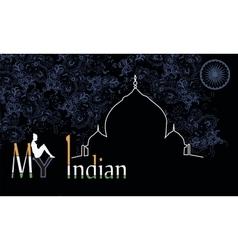 India vector