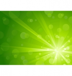 light burst with shiny dots vector image