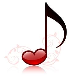 lovemusic vector image