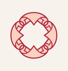 rolls of wallpaper sign vector image
