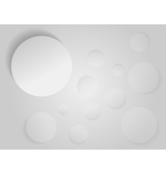 Abstract white paper vector image vector image