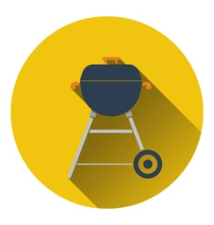 Icon of barbecue vector image