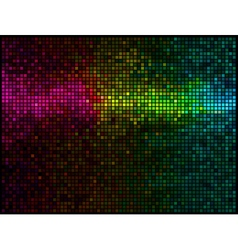 abstract lights vector image